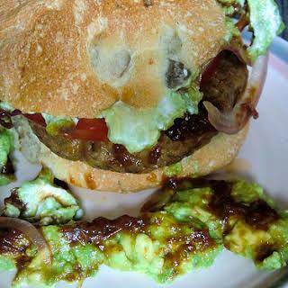 Vegan Veggie Burger.