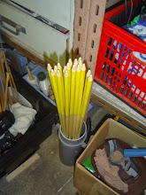 Photo: 11h50 tout est usiné pour recevoir les encoches