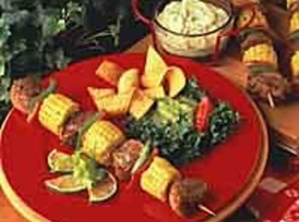 Margarita Pork Kabobs Recipe