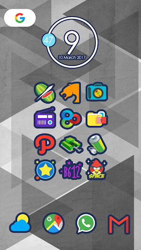 لالروبوت Cute Icon Pack تطبيقات screenshot