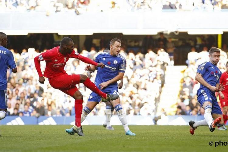 Le but de Benteke contre Chelsea