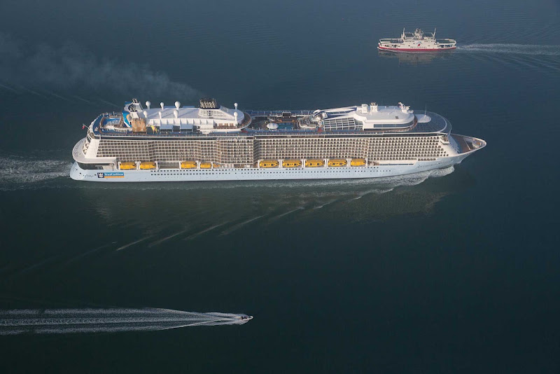 Anthem of the Seas at sea.