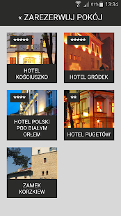 Donimirski Hotels in Krakow- screenshot thumbnail