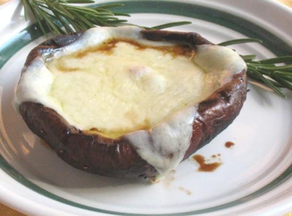Cheese Topped Portabello Mushrooms Recipe