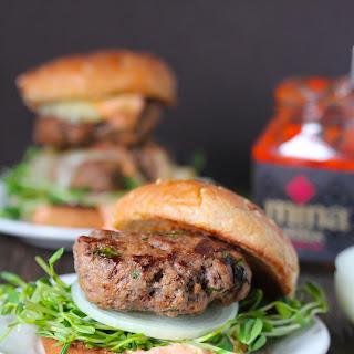 Harissa Beef Burgers