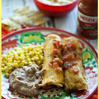 Easy Kid Approved Cheesy Chicken HERDEZ Encheladas #DiaDelNinos #Sp.
