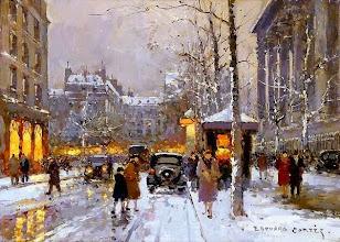"""Photo: Édouard Cortès, """"Place de la Madeleine"""""""