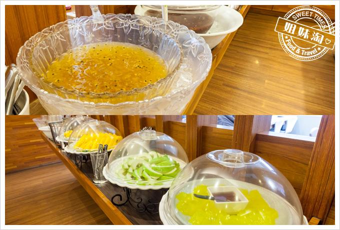 上竹林食草館養生汆燙鍋-水果甜點