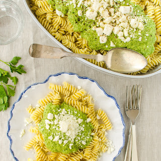 Broccoli & Feta Pasta Sauce.