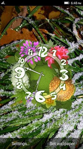 Flower Clock LWP