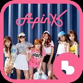 에이핑크 핑크 메모리 버즈런처 테마(홈팩)