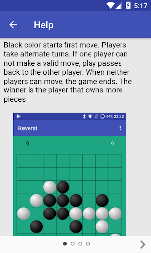 Reversi - Livio 0.2.3 {cheat|hack|gameplay|apk mod|resources generator} 5