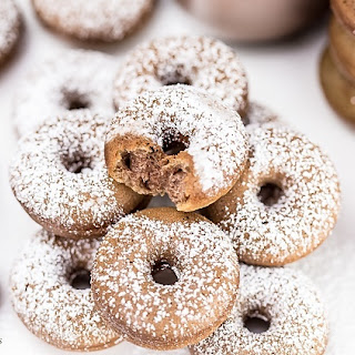 Mini Chocolate Breakfast Doughnuts