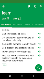 Dictionary : Word Definitions & Examples – Erudite – Latest MOD APK 3