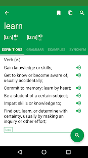 Erudite Dictionary, Translator & Widget Screenshot