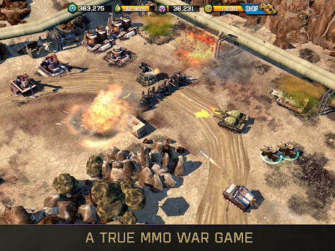 War Commander: Rogue Assault APK screenshot thumbnail 3