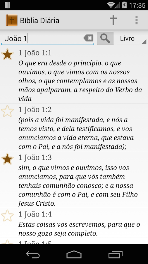 Versículo da Bíblia Diário- screenshot