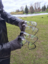 Photo: Spent the morning with Google Glass Explorers. Tried on new hardware, chatted with Explorers at Greenlake, and took some photos. Also visited the event in SoDo Park, where Glass is being demo'd.