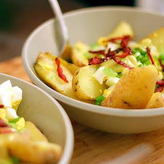Fingerling Potato Salad with Sherry-Mustard Vinaigrette.