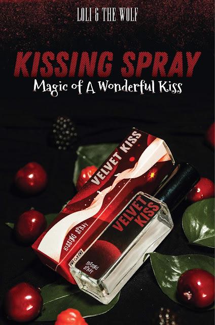 Kissing Spray Velvet Kiss vị Rasberry