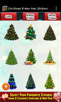 Christmas & New Year Stickers - screenshot