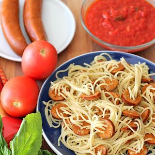 Sauce Hot Dog Spaghetti Recipes.
