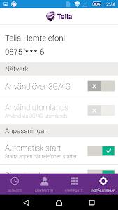 Telia Hemtelefoni screenshot 5