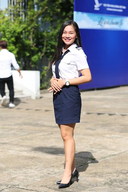 Địa chỉ cung cấp đồng phục học viện hàng không uy tín chất lượng