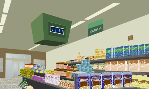 ウールワーススーパーマーケットからの脱出