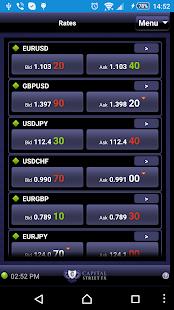 Capital Street Mobile Trader - náhled