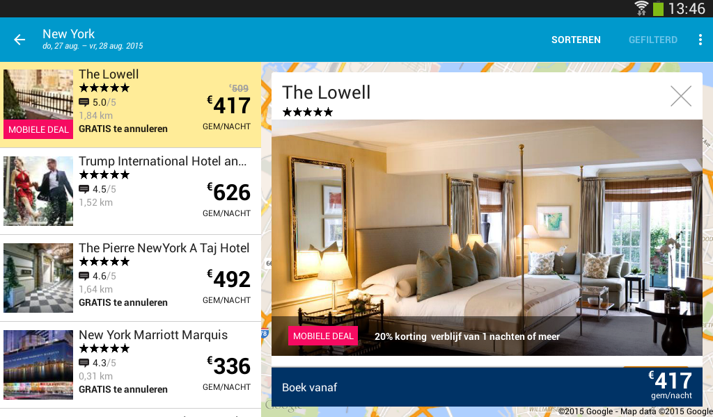 ebookers: Hotel, Vlucht, Auto - Android-apps op Google Play