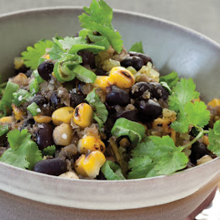 Black Bean Chili with Fire-Roasted Corn.