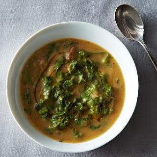 Caldo Verde (Portuguese Soup with Cauliflower)
