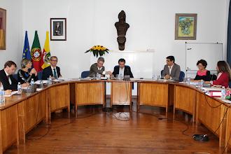 Photo: Reunião do executivo camarário