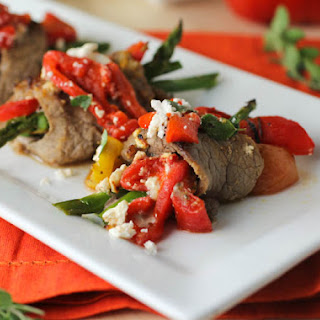 Pan-Seared Greek Steak Rolls