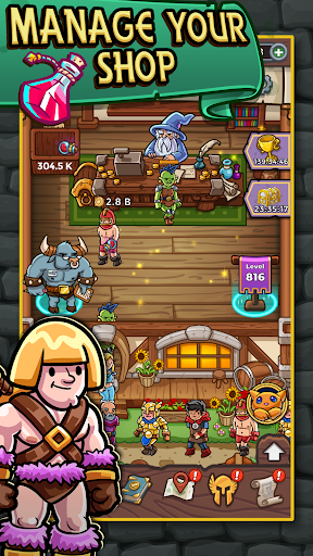 Dungeon Shop Tycoon: Craft, Idle, Profit! u2694ufe0fud83dudcb0ud83euddd9 1.622 screenshots 1