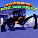 Construction Jcb Loader Dozer Simulator 2021 icon