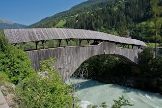 Photo: Most dla pieszych ponad Inn.