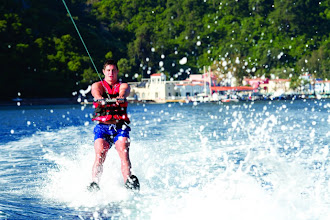 Photo: Waterski...  Sivota in Greece, Adakoy and Ortakent in Turkey have great conditions for this http://www.neilson.co.uk/activities/waterskiing