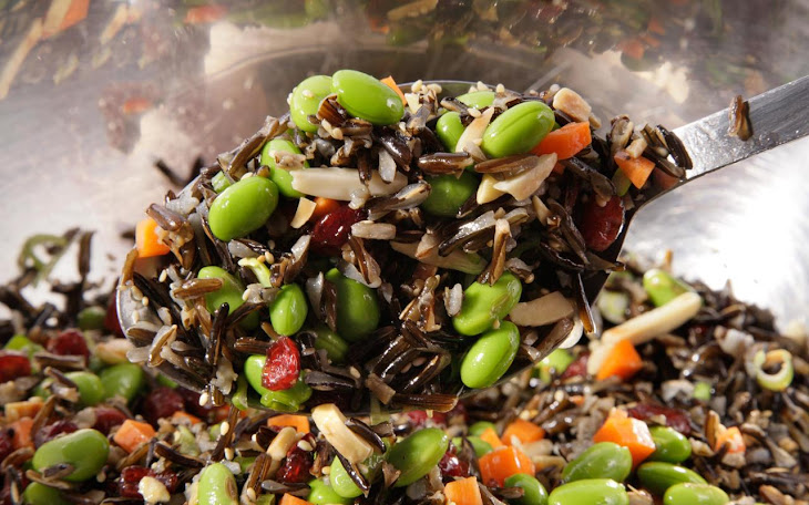Wild Rice and Edamame Salad Recipe