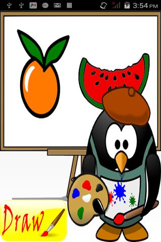 果物や野菜を着色