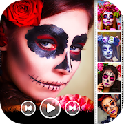 Halloween Video  Maker With Music