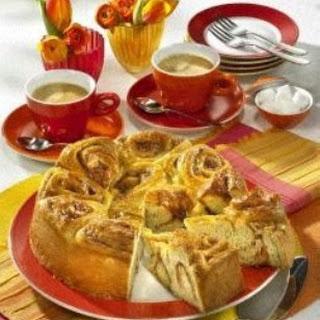 Rosenkuchen mit Mandeln (Diabetiker)