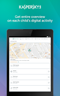 Kaspersky SafeKids: Parental Control for Android- screenshot thumbnail
