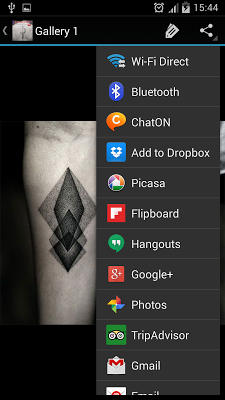 Geometric Tattoos - screenshot