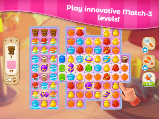 Cooking Paradise - Puzzle Match-3 game 2.0.6 screenshots 20