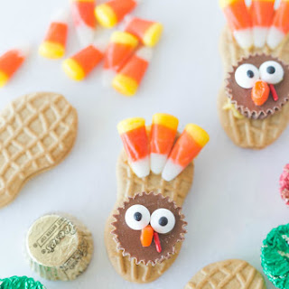Nutter Butter Turkey Cookies