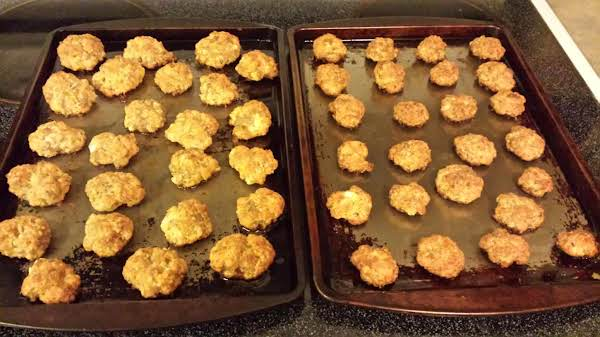 Cream Cheese Sausage Balls..my 1st Time Making Them..really Good