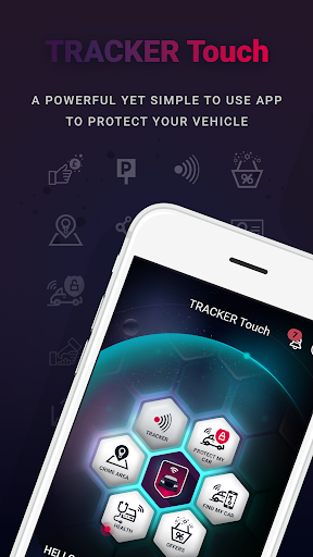 TRACKER Touch screenshots 1