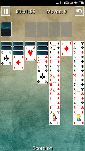 Scorpion Wasp Solitaire 1.0.0 screenshots 2